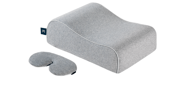 Siesta Pillow with Eye Mask - Travel Nap Pillow