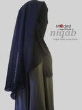Hajar Visor Hidden Eyes Niqab 93004-42
