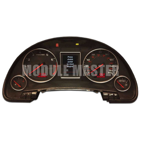 Audi A4 (2002-2008) S4 (2004-2008) Highline Color LCD Instrument Cluster Rebuild