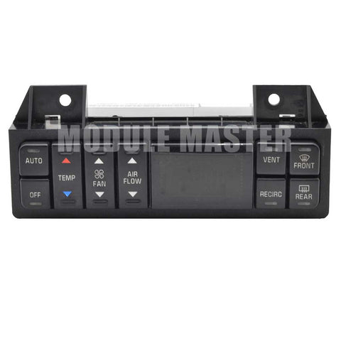 Climate Control for Buick Century, LeSabre, and Regal with small screen and various buttons.