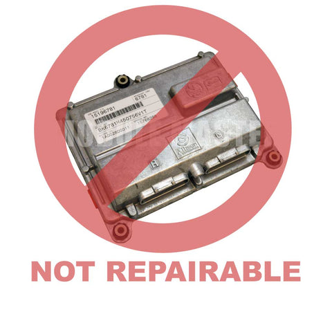 Chevy Chevrolet Silverado 2500 3500 GMC Sierra 2500 3500 (2001-2005) Allison Transmission Control Module. Red watermark that says not repairable across cluster.