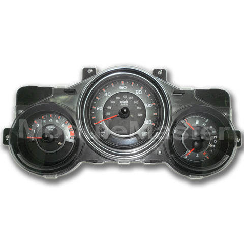 Honda Element (2003-2006) Instrument Cluster with four gauges, two buttons, and small screen.