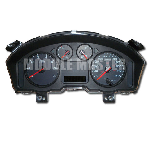 Ford Freestyle Instrument Cluster with four gauges and a small screen.