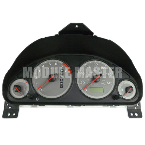 Honda Civic Instrument Cluster with four gauges and a digital odometer. Gauges have grey background and white text.