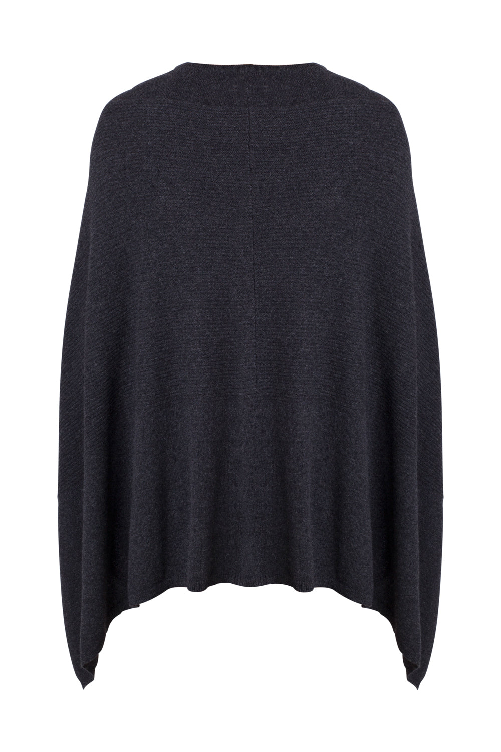 Cape Sweater in Charcoal