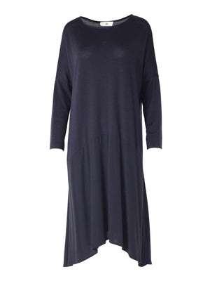 Chrystal Dress in Navy