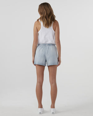 Chambray Short Vintage Wash