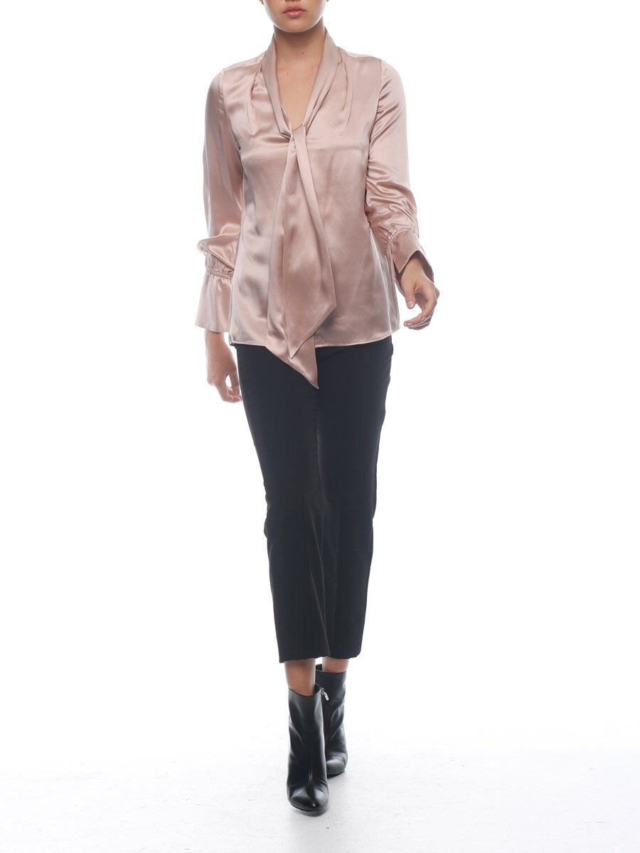 Constance blouse. Dusty pink