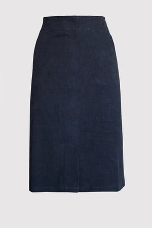 Nora cotton skirt. Navy