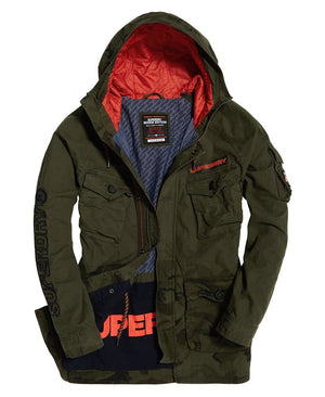 Mixed Rookie Parka in Hurricane Camo