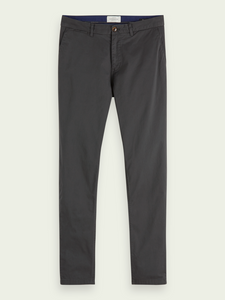 Stuart Regular Fit Trouser in Charcoal
