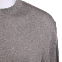 New Saks Fifth Ave Sweater Size S Mens Aloe Gray Cash Cotton