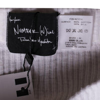 Number (N)ine Sweatpants Size M White - Vintage