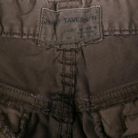 Jimmy Taverniti Slim Cargo Pant Size 34 Dark Green Cotton Blend
