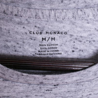 Club Monaco Men Size M Heather Gray Melange Pocket Tee Shirt