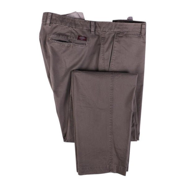 Masons Chino Pant Size 40 Cotton Flat Front Khaki Trousers
