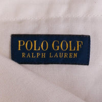 Polo Ralph Lauren Golf Shorts Size 36 White Cotton Twill Stretch