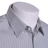 Theory Dress Shirt 15.5 - 32/33 Dover Pnt / Tandem White Stripe