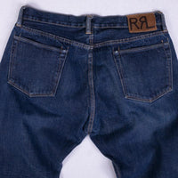 RRL Jean Size 36 Mid Weight Selvedge Straight USA Made