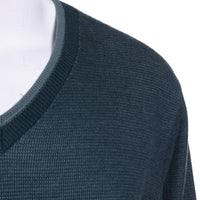 Stefano Ricci Cashmere Sweater Size 42 (52) Green V-Neck
