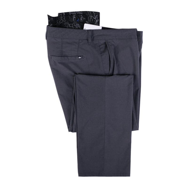 Travis Matthew Golf Pants Size 38 Dark Gray Flat Front