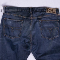 RRL Jeans Size 36 Low Straight Leg Japan Woven Selvedge