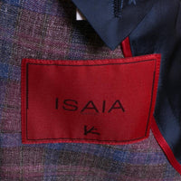 ISAIA Sport Coat Size 42 (52) Pastel Soft Madras Gregory