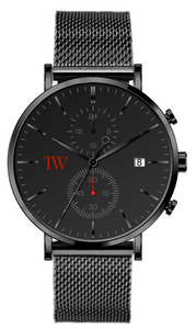 Aurora - Metallic Grey - TimeWise Watch Co.