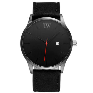 Minimalist - Black on Black - TimeWise Watch Co.
