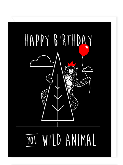 Birthday Wild Animal