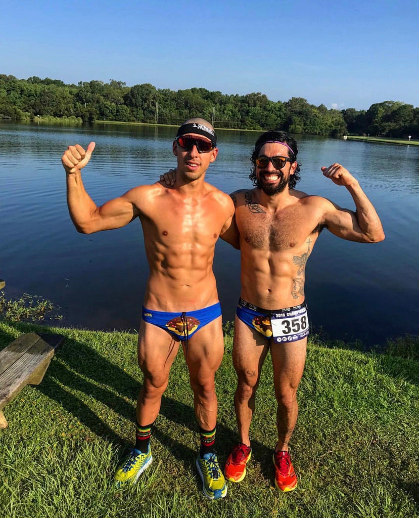 Speedo Triathlon with Salty Britches and no chafing