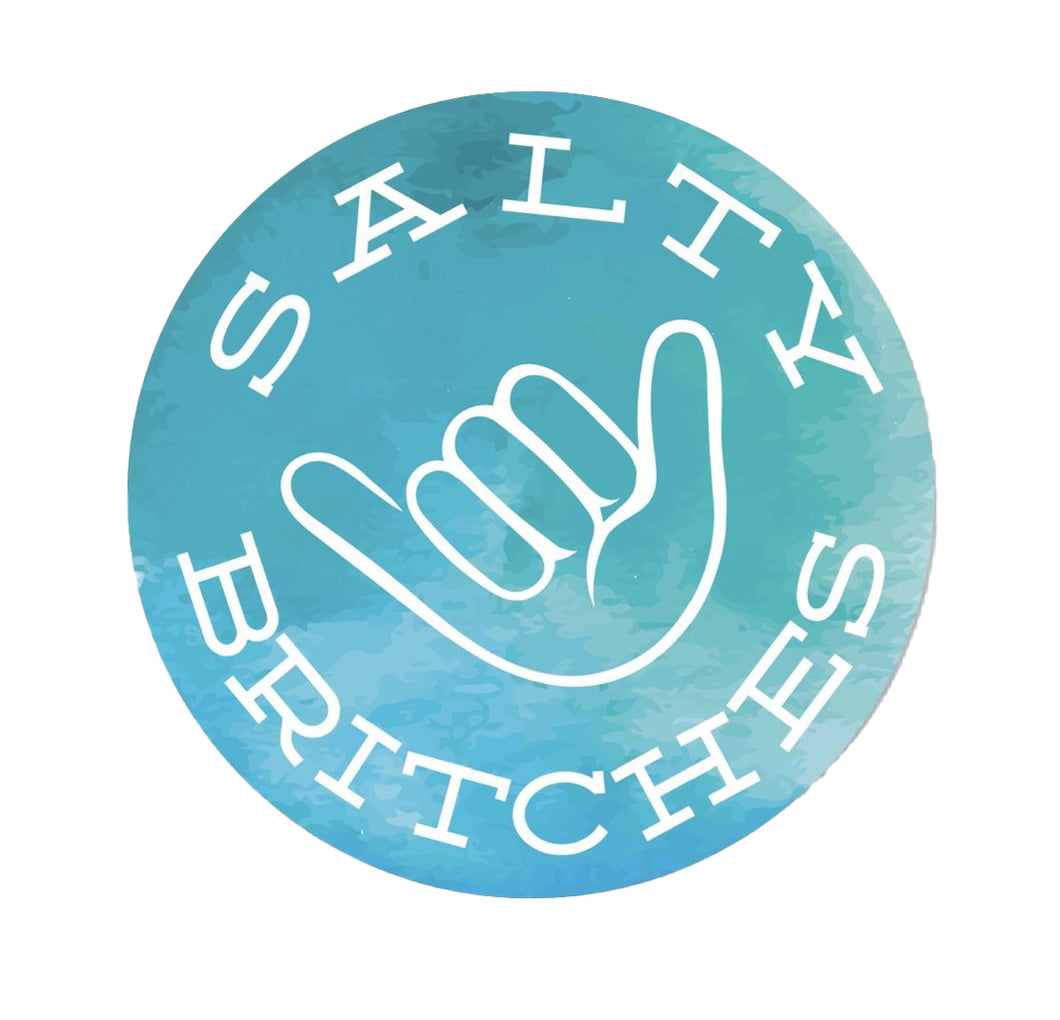 Salty Britches® Sticker - Watercolor