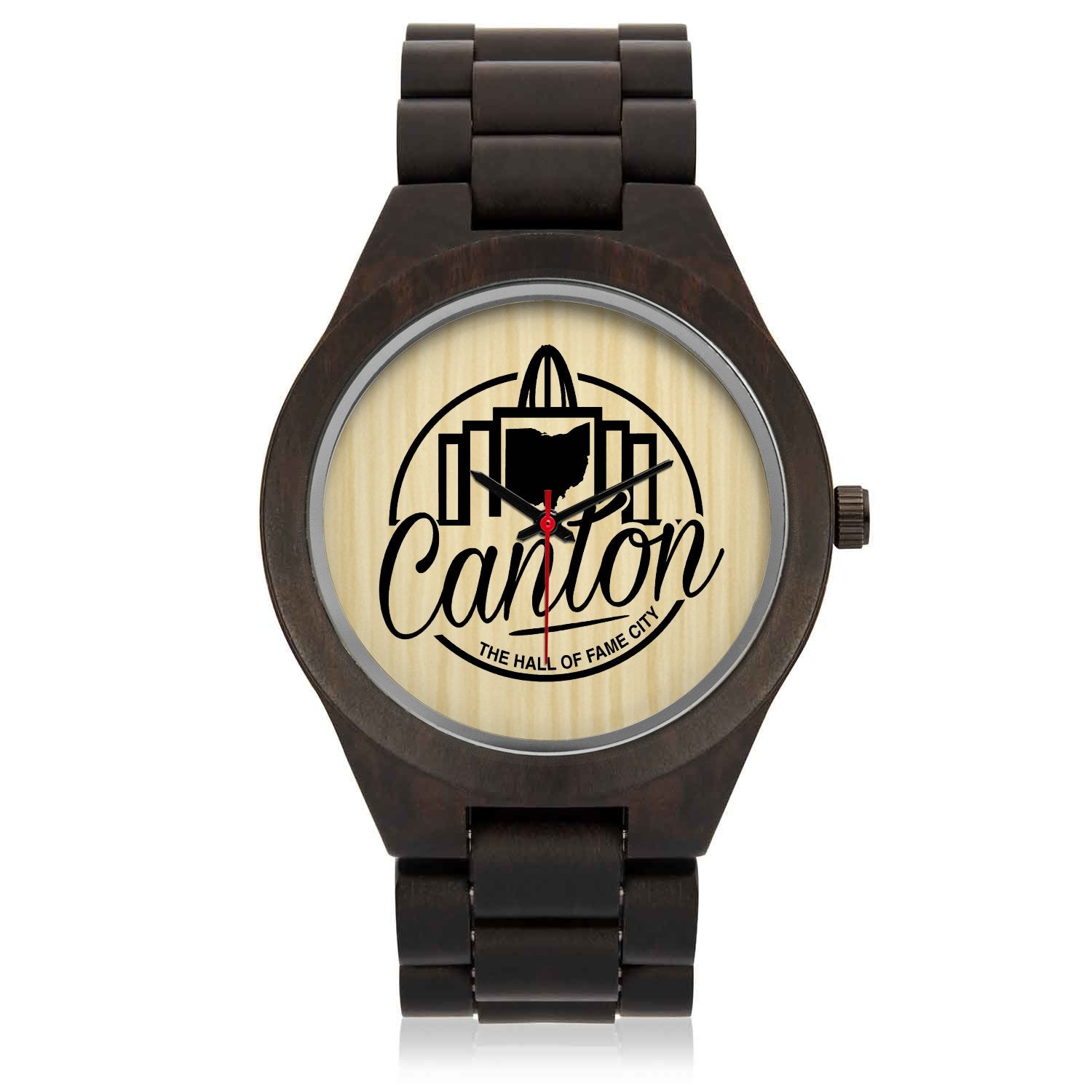 HOF CITY Wood Watch