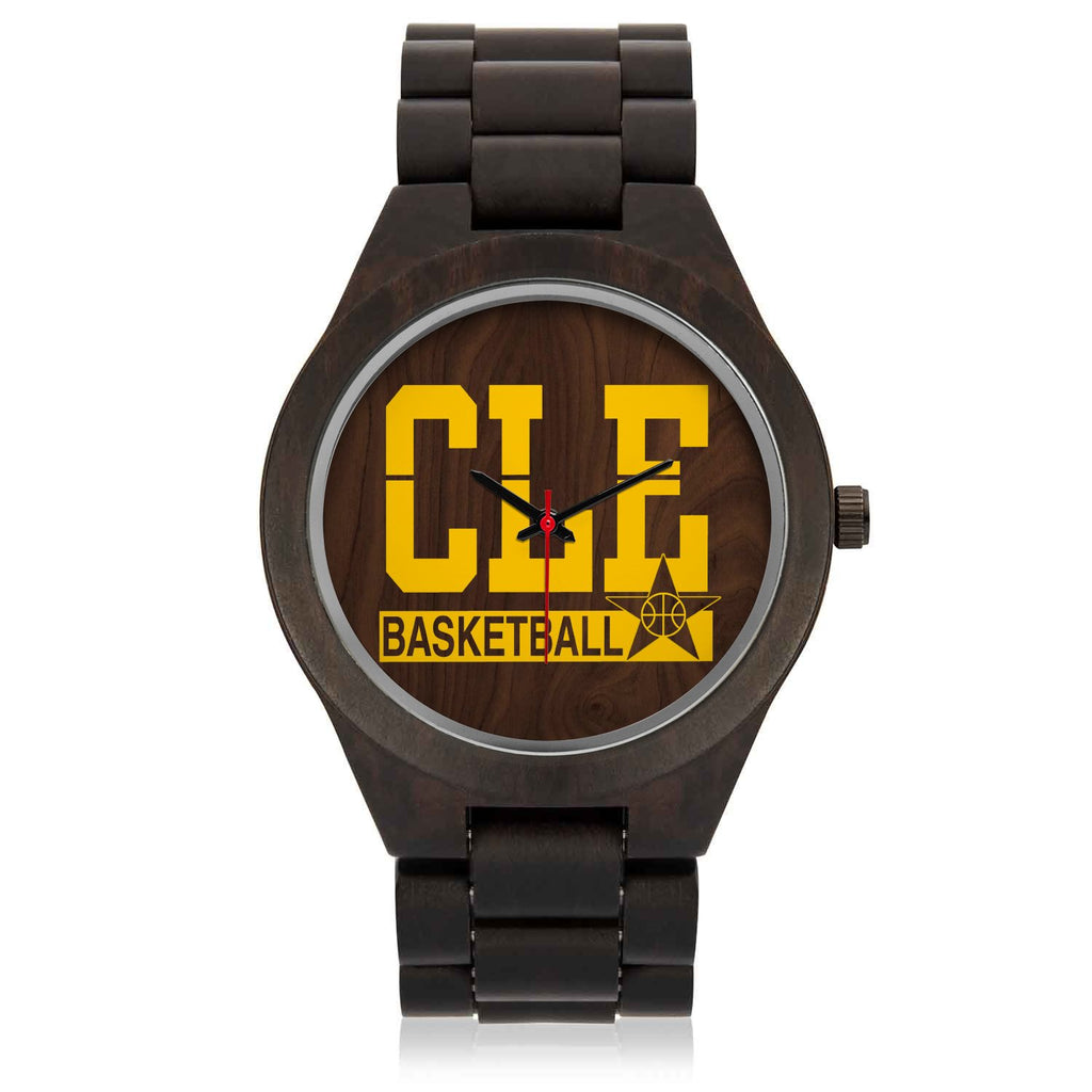 CLE BASKETBALL Wood Watch
