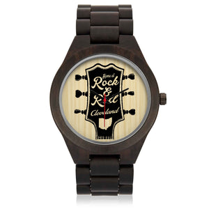 HOME OF ROCK AND ROLL Wood Watch