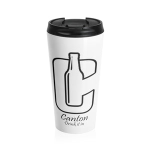 DRINK IT IN Stainless Steel Travel Mug
