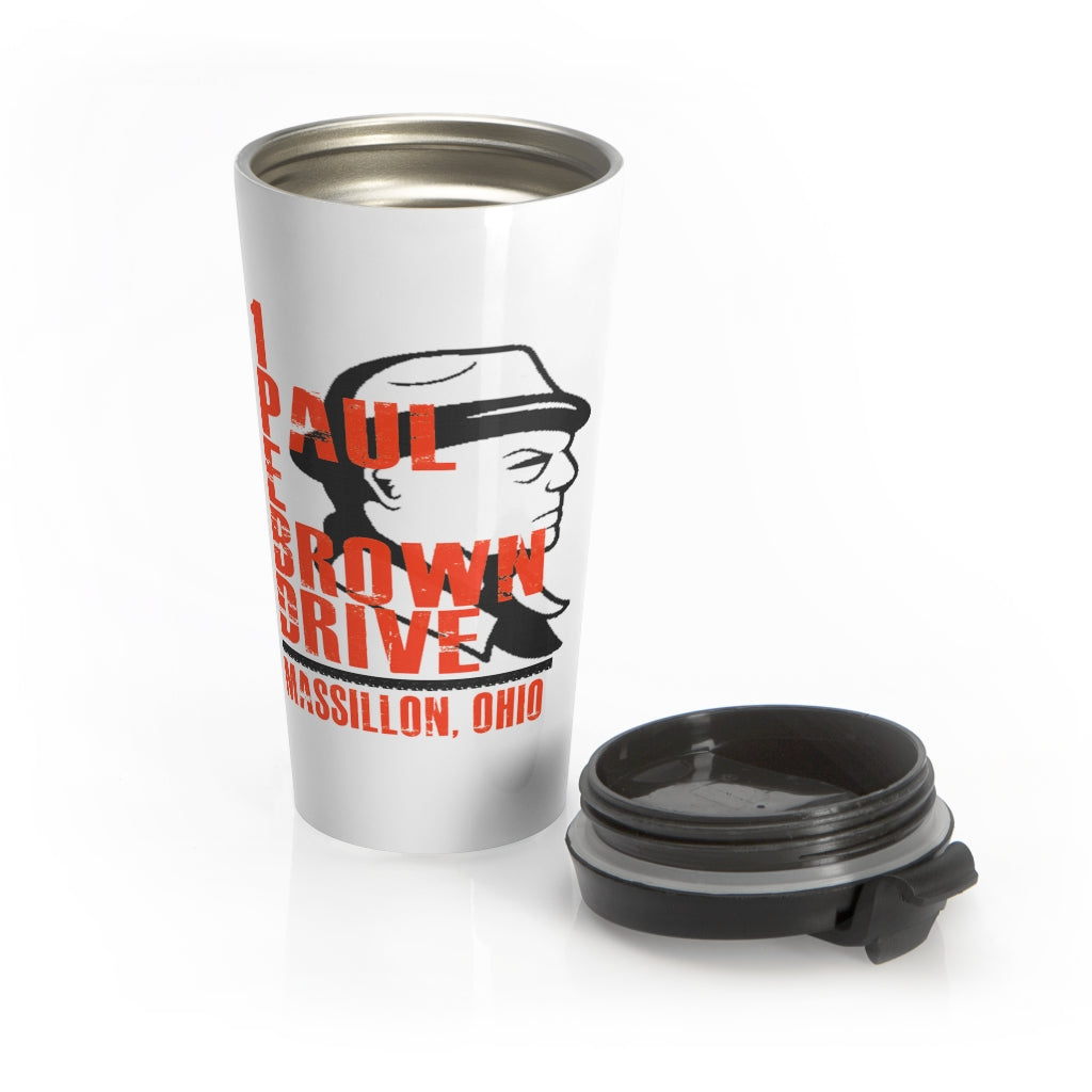 1 PAUL E BROWN DRIVE Stainless Steel Travel Mug
