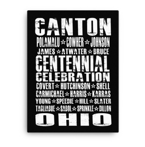 CENTENIAL CELEBRATION Canvas