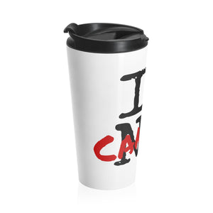 I LOVE CANTON Stainless Steel Travel Mug