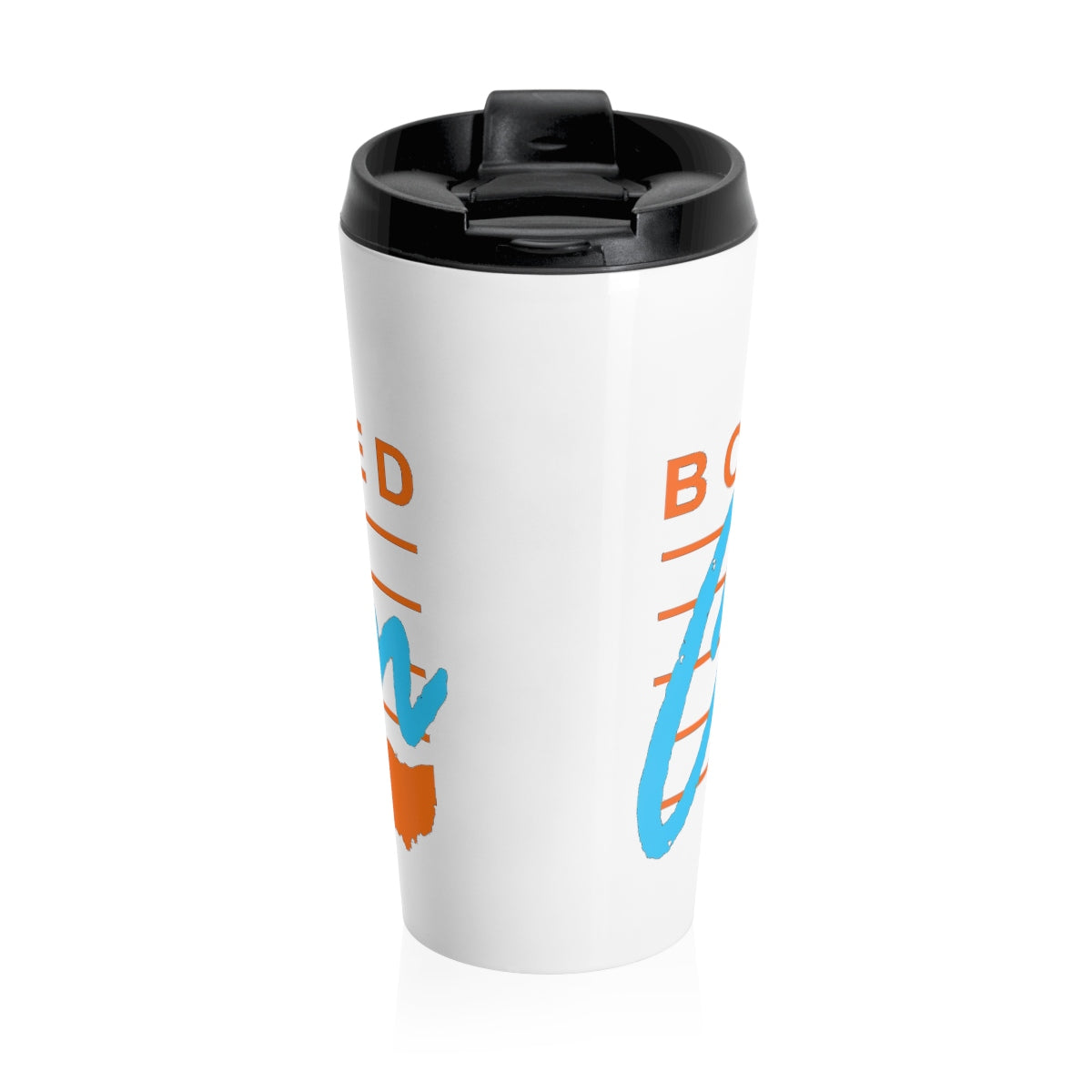 BORN AND RAISED IN CANTON Stainless Steel Travel Mug