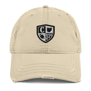 CANTON CREST Distressed Dad Hat