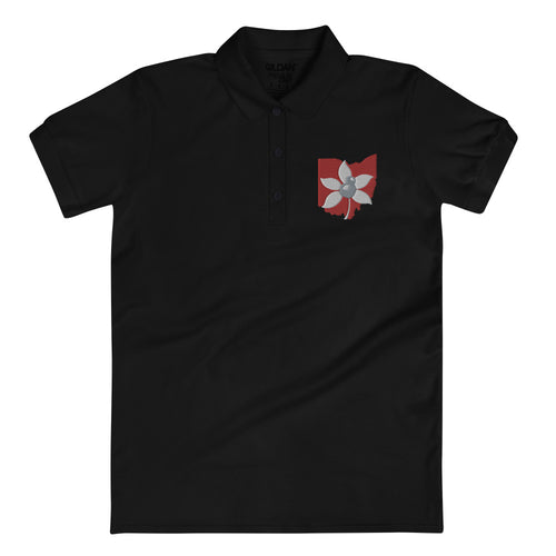 BUCKEYE Embroidered Women's Polo Shirt