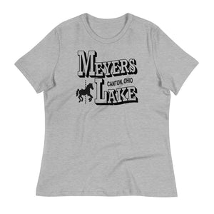 MEYERS LAKE Women's Relaxed T-Shirt