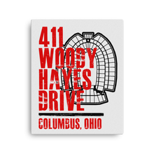 411 WOODY HAYES DRIVE Canvas