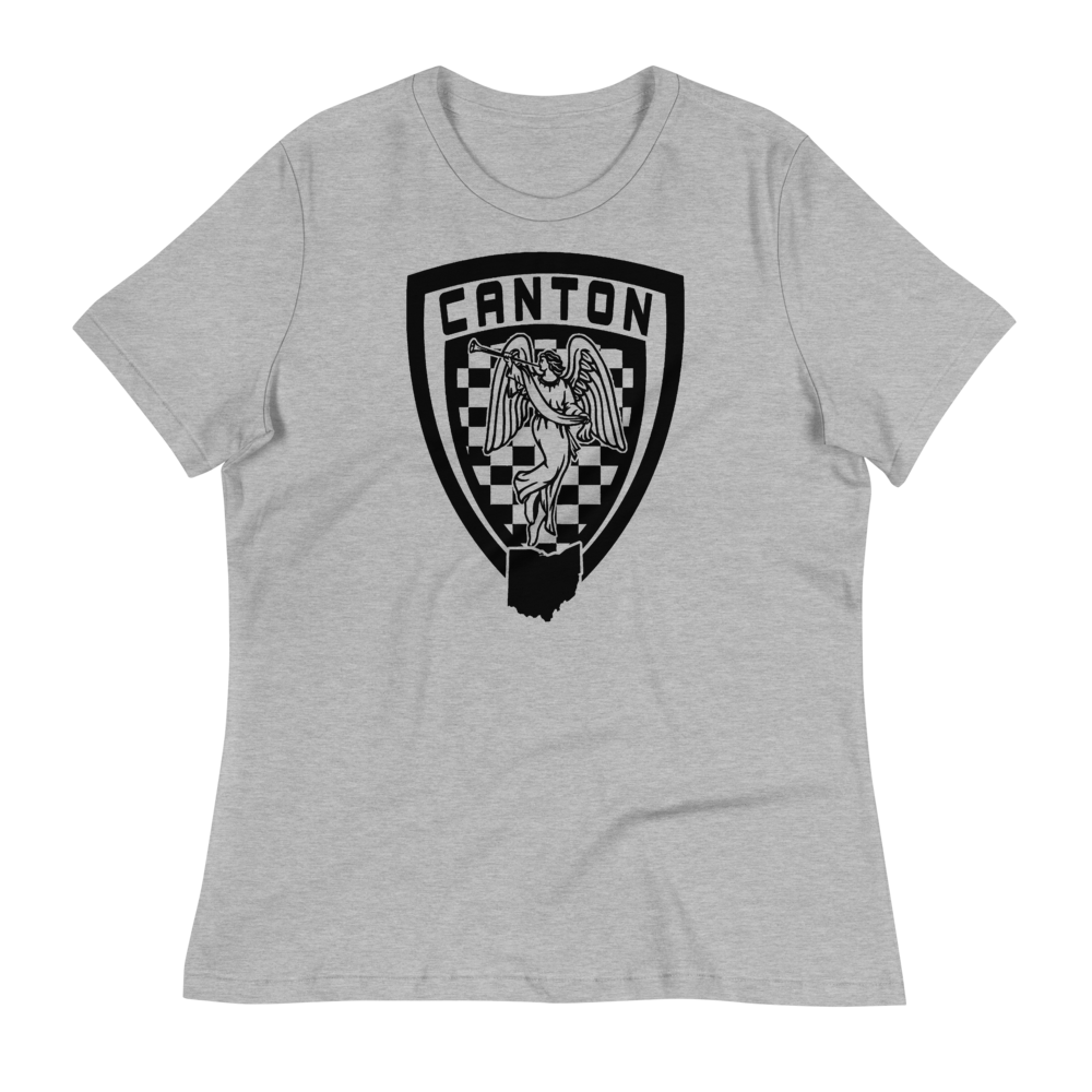 CANTON COURTHOUSE ANGEL SHEILD Women's Relaxed T-Shirt