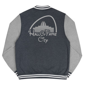 HALL OF FAME CITY Men's Letterman Jacket