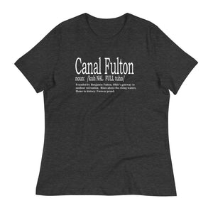 CANAL FULTON Women's Relaxed T-Shirt