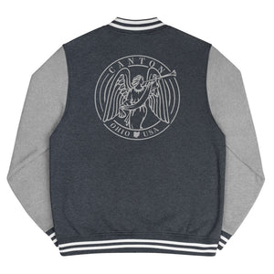 CANTON COURTHOUSE ANGEL Men's Letterman Jacket
