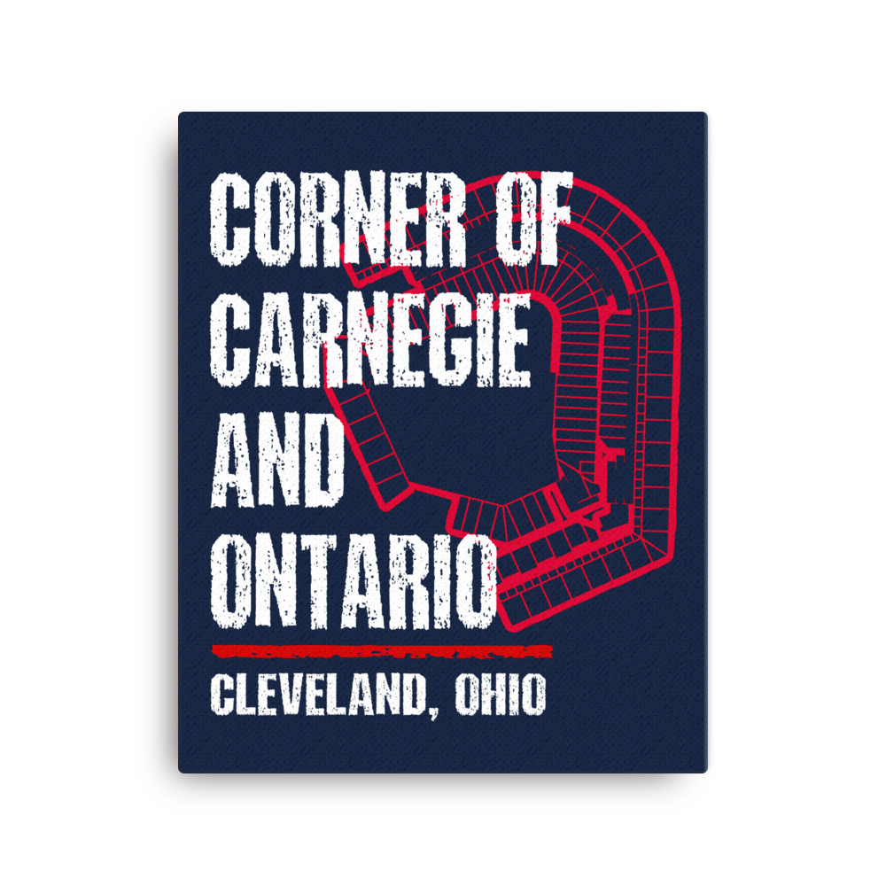 CORNER OF CARNEGIE AND ONTARIO Canvas