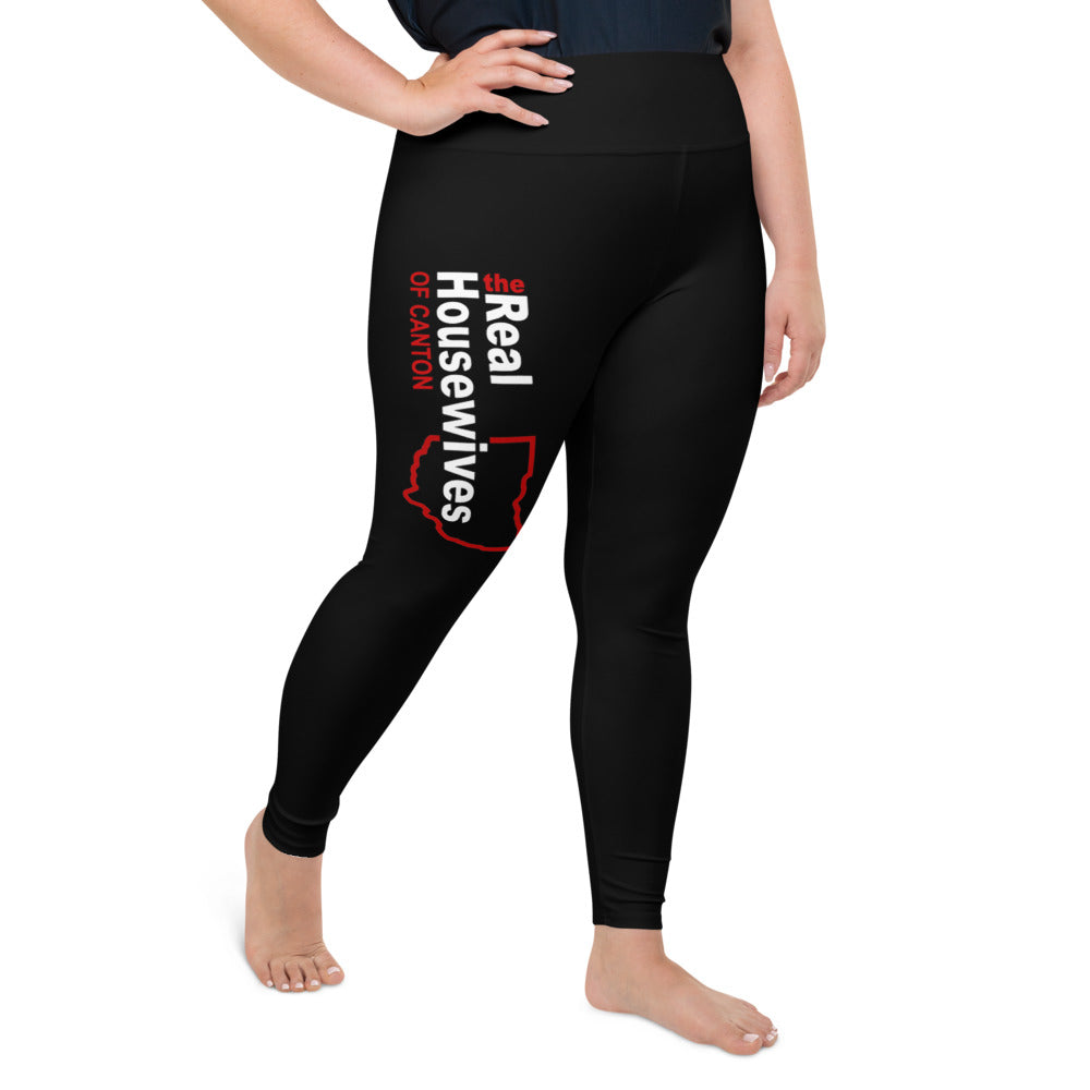 REAL HOUSEWIVES OF CANTON All-Over Print Plus Size Leggings